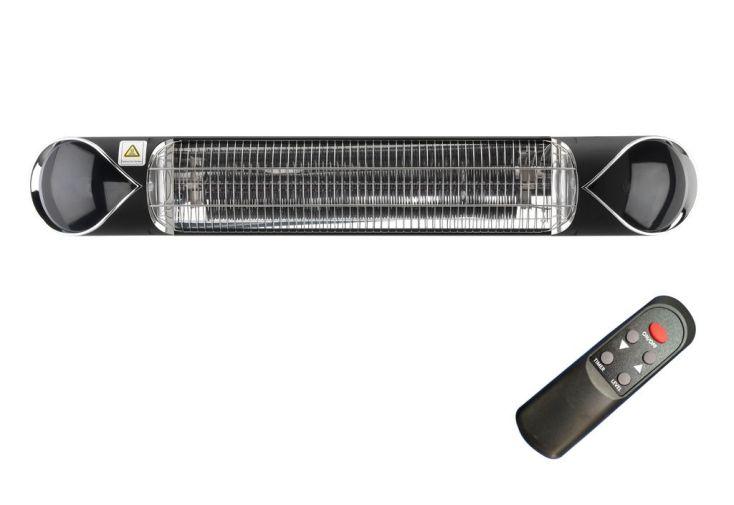 chauffage électrique iSun 2500 watts, usage intérieur ou extérieur