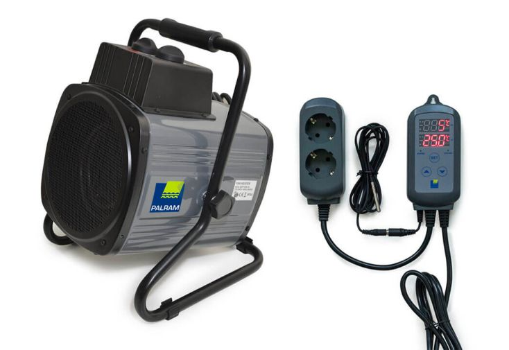 Chauffage Électrique Portable pour Serre de Jardin Palram 2400 W