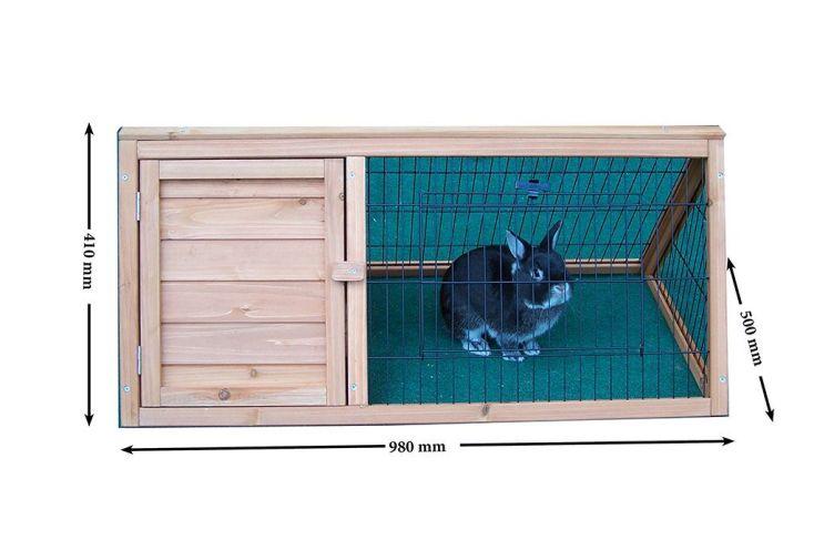 Clapier Pompon (0,98x0,50x0,41) FSC