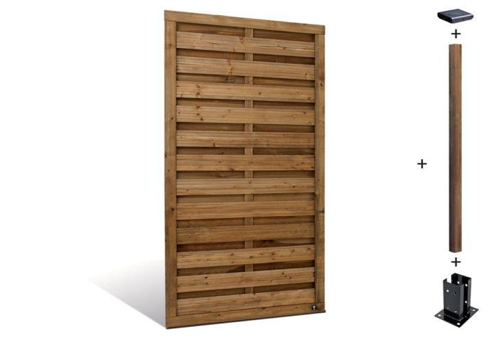 Kit Panneaux Bois Droit Selekt (90x180)
