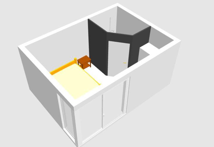 Cloison Intérieure pour Bungalow Design Studio au m²