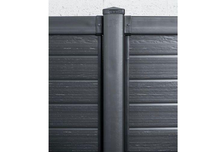 Kit Poteau Polypropylène 12,5x12,5x240cm (l,l,h) de 10 à 30 Poteaux