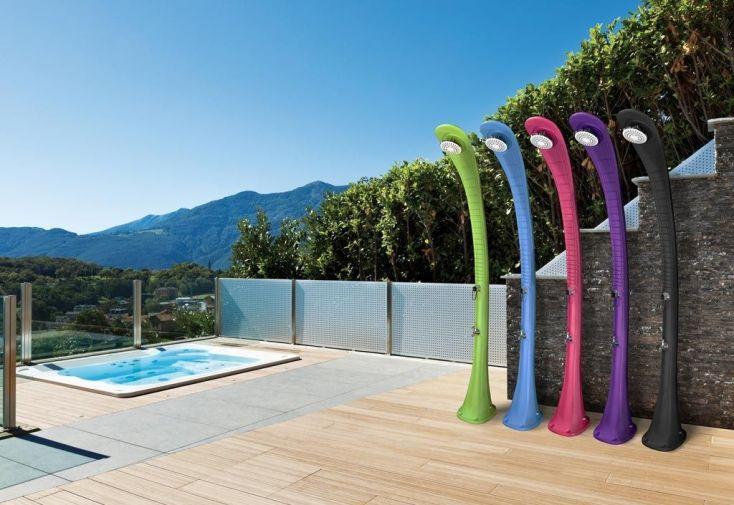 Douche solaire cobra pour piscine