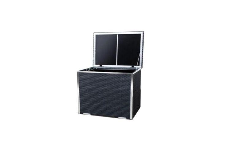 Coffre de Rangement en Resine Tressée 90x50x70cm (l,l,h)
