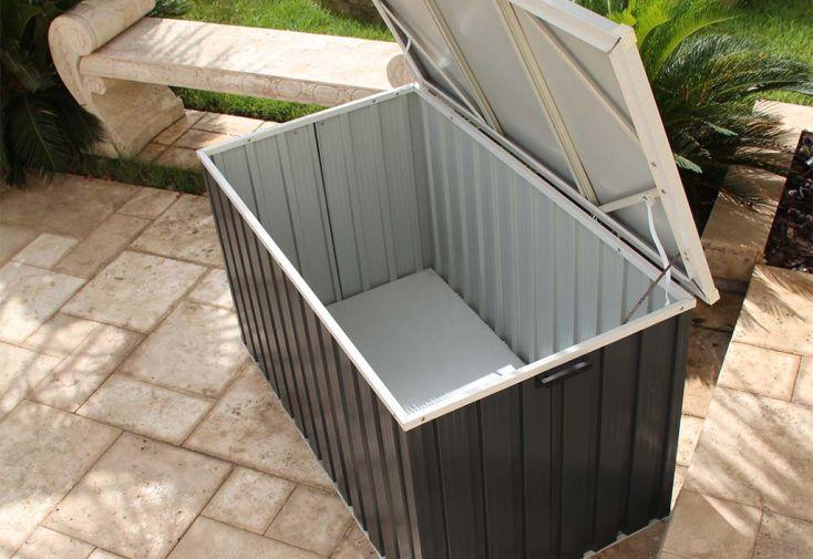 Coffre de Rangement Métal Duramax 134x73x73cm (l,l,h)