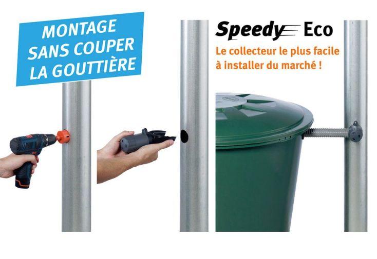 Collecteur d'Eau de Pluie Speedy Eco Sable