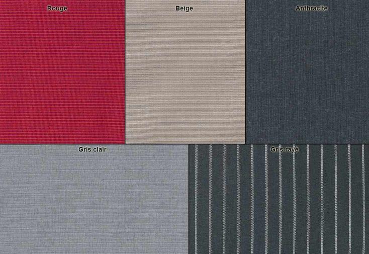 Lot de 6 Coussins pour Chaise Empilable Sieger (6 coloris)