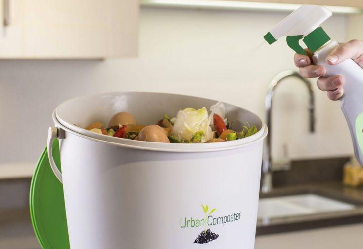Mini Composteur Cuisine Urban Composter 15l Accelerateur De Compost