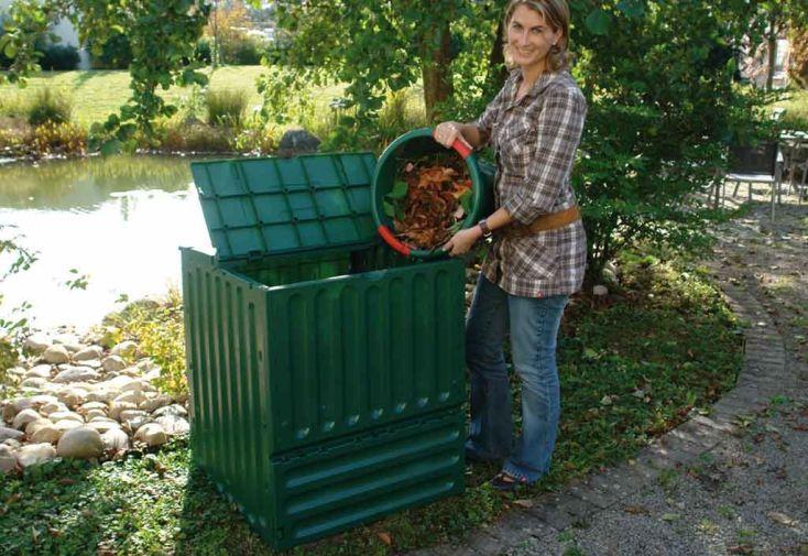 Composteur Eco-King 600L VERT