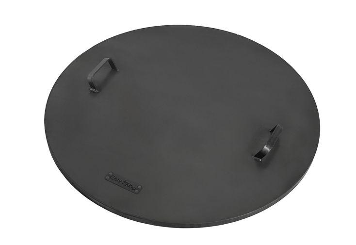 Couvercle en acier brut pour Braséro rond de Cookking 60 à 100 cm