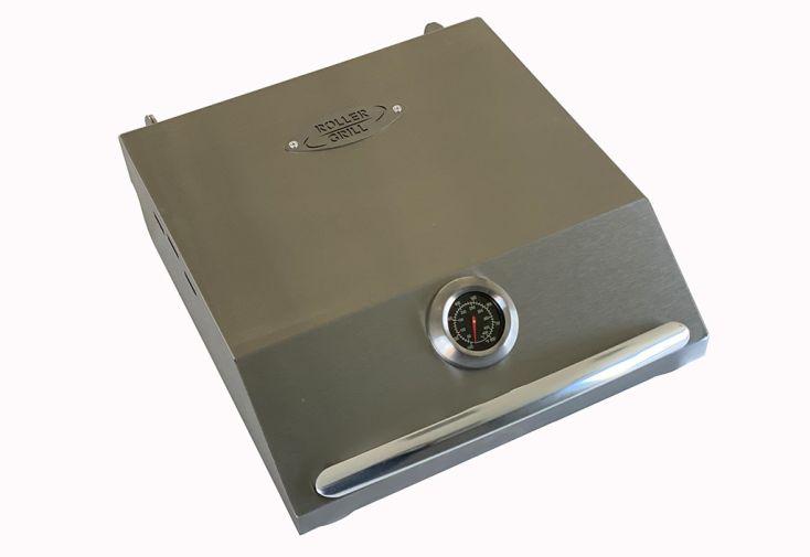 Couvercle de cuisson pour plancha en inox Roller Grill 400