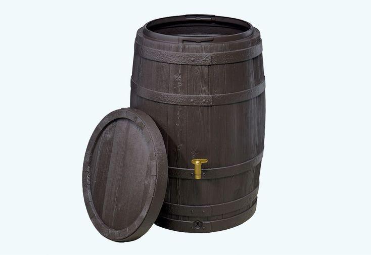 Cuve Récupération d'Eau de Pluie 250 L Tonneau Vino