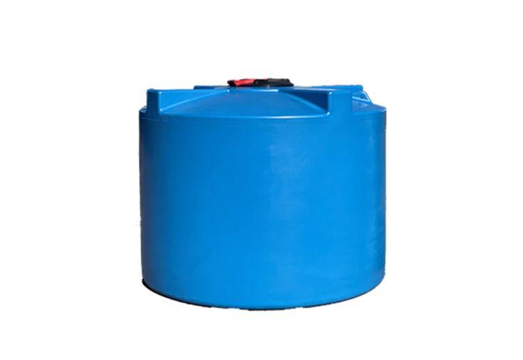 Cuve de stockage d'eau en polyéthylène 3000 L Plast'Up bleu