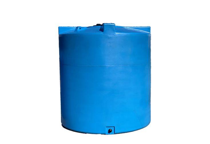 Cuve de stockage d'eau en polyéthylène 5000 L Plast'Up bleu