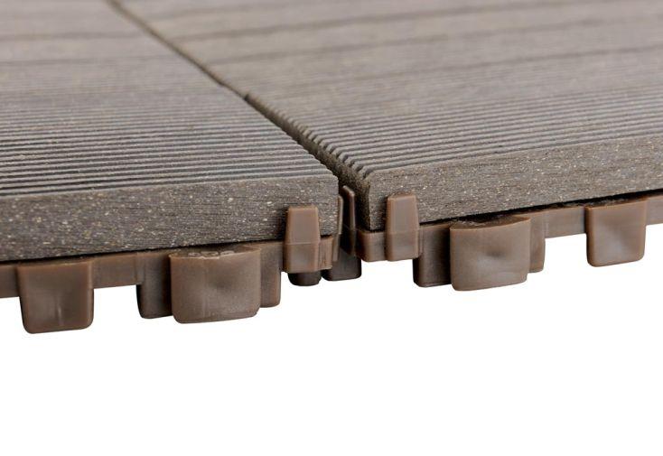 Dalles Composite Clipsable 30x30 - Lot de 12