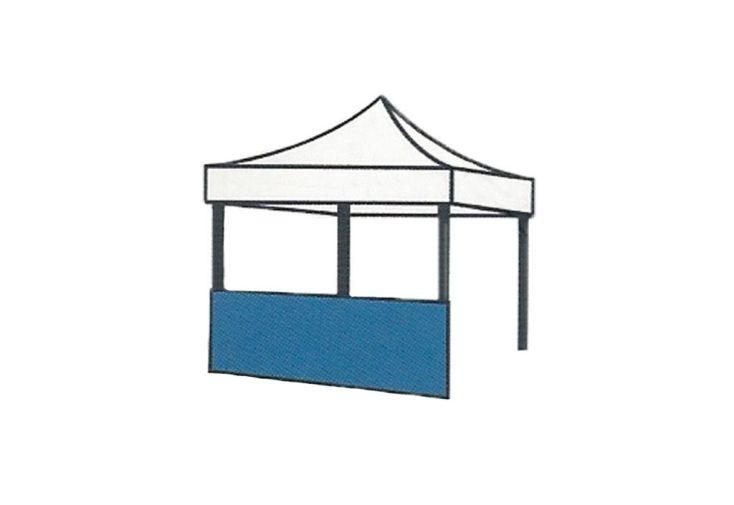 Demi-Mur pour Tente de Réception Cebu 3x3