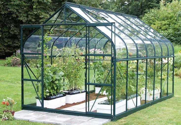 Serre de jardin en verre DIANA 8300 Apifera