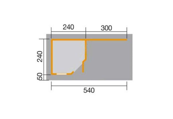 Abri Design Fides 3 (Plusieurs Tailles) 28mm