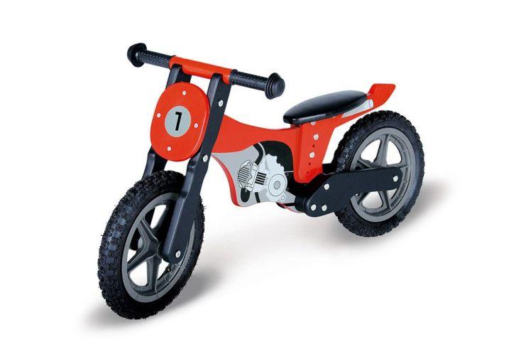 Draisienne Moto pour Enfant en Bois sans Pédale Mika