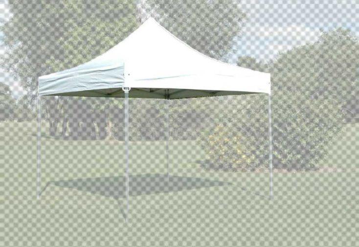 Toit ou Roof PVC Blanc 520 gr/m² pour Tonnelle 3x3 Alu Pliante