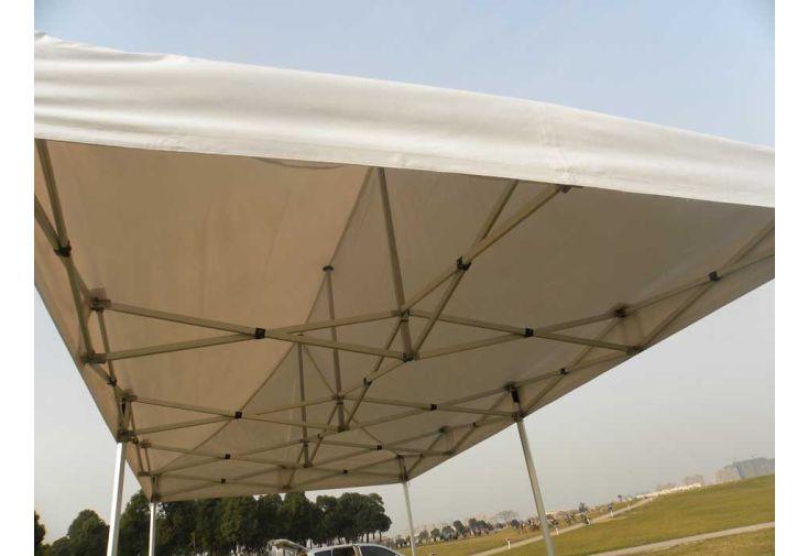 Tente de r ception pliante 3x6 alu renforc 55mm toile 520gr m furnitrade for Piscine 3x6 prix