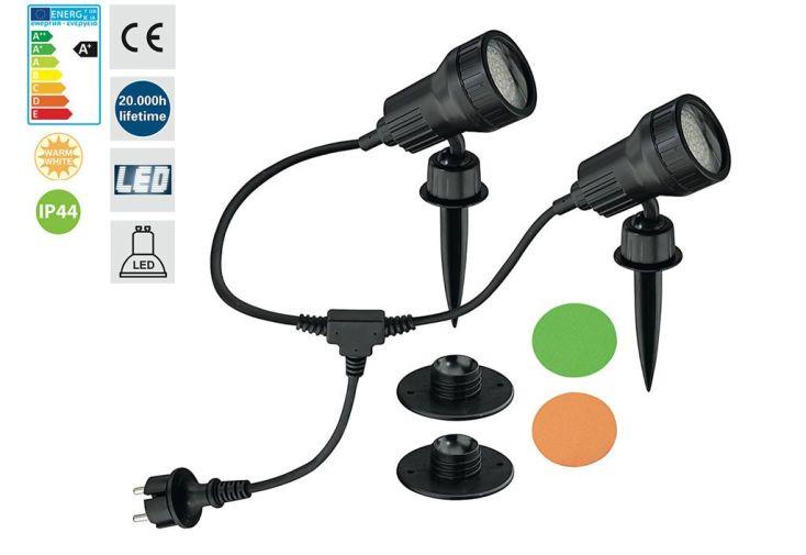Eclairage d'Extérieur LED 2 Lampes