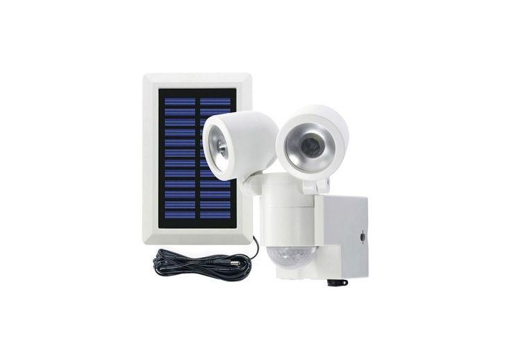 Kit Éclairage Solaire Avec Détecteur de Mouvement 2 Spots