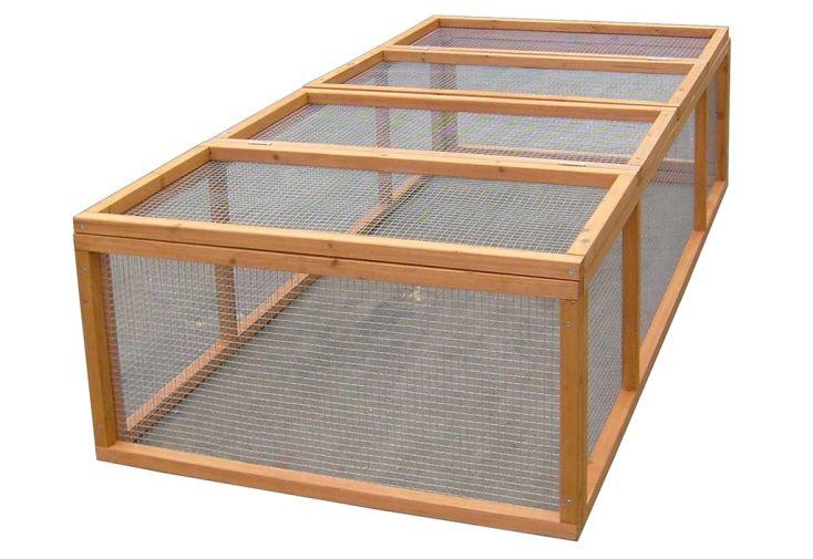 Enclos pour Lapins Smokey (0,9x1,8x0,5)