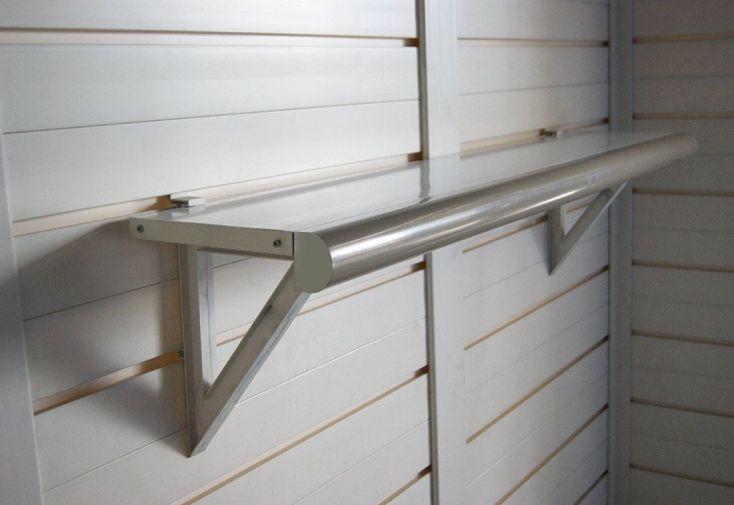 Kit 2 Etagères pour Abri de Jardin en PVC Evo Garofalo