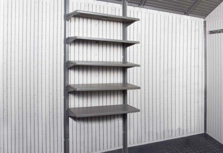 Etagéres Lifetime 0114 pour abris PVC Sentinel, Century, Element