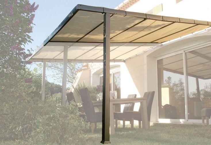 extension pour tonnelle adoss e en aluminium philadelphia. Black Bedroom Furniture Sets. Home Design Ideas