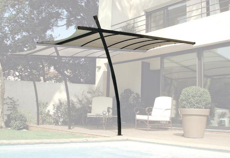Extension Pour Tonnelle Sydney En Acier 3 5 X 2m Toile Renforc E Couleurs Du Monde