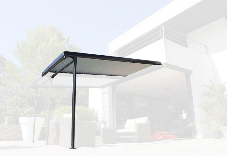 Extension pour Tonnelle Azura à Lames Orientables 3,5 x 2 m