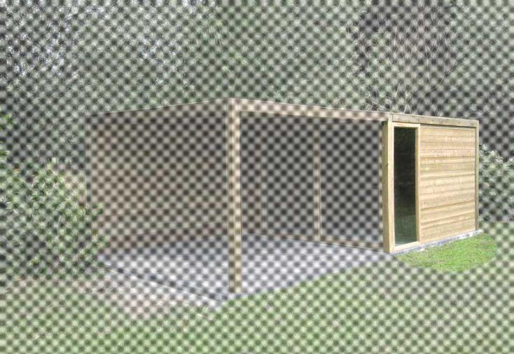 Fenetre fixe et Paroi 28 mm pour Exterior 350