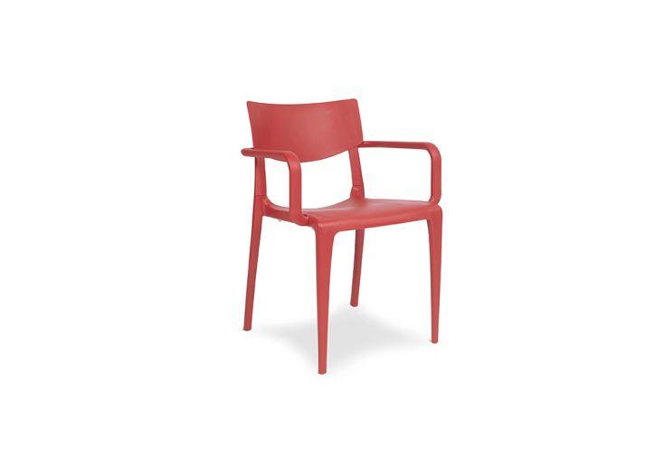 fauteuil de jardin en polypropylène renforcé