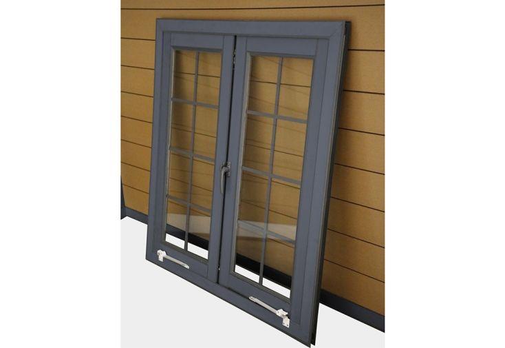 Fenêtre en Aluminium pour Abri de Jardin Woodlife Double Vitrage