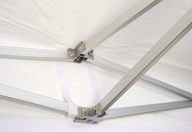 Tente de Réception Pliante 3x4,5 Alu Renforcé 55mm + Toile 520gr/m²