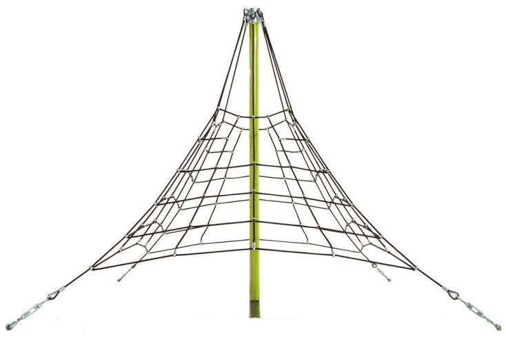 Pyramide de Cordes Armées 356x270cm pour Collectivités