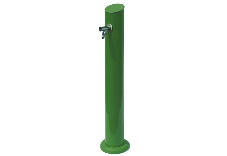 fontaine à eau en métal zinc pas chère couleur verte