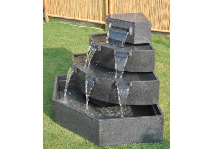 Fontaine de Jardin Granit Poséïdon