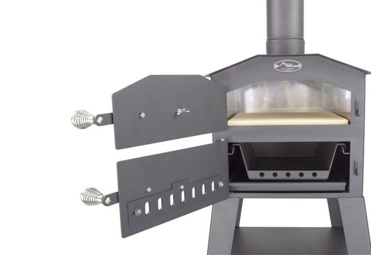 Four à Pizza Multifonctions Acier Vulcano 1