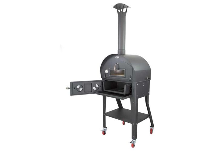 Four à Pizza et Barbecue Multifonctions Acier Vulcano 3