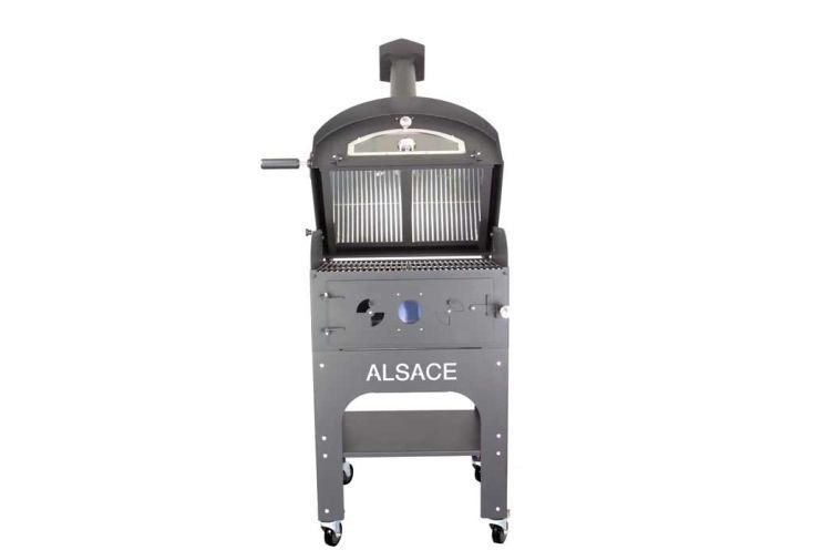 Four à Pizza et Barbecue Multifonctions Acier Vulcano 3 Premium