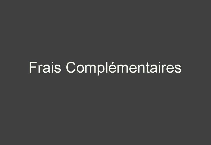 Frais complementaires-2