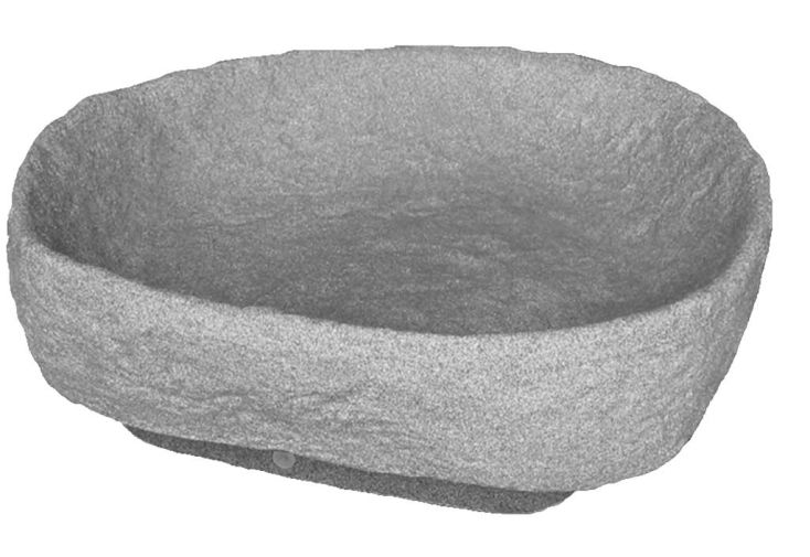 Pot à fleur Menhir gris