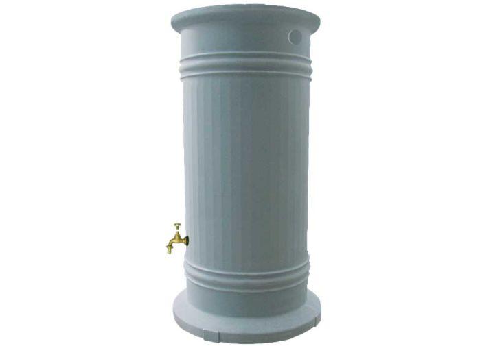 Cuve recuperation d'eau pluie Colonne Romaine 1200 L gris