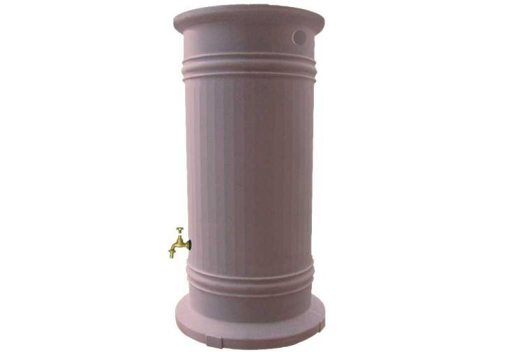 Cuve recuperation d'eau pluie Colonne Romaine 1200 L rouge