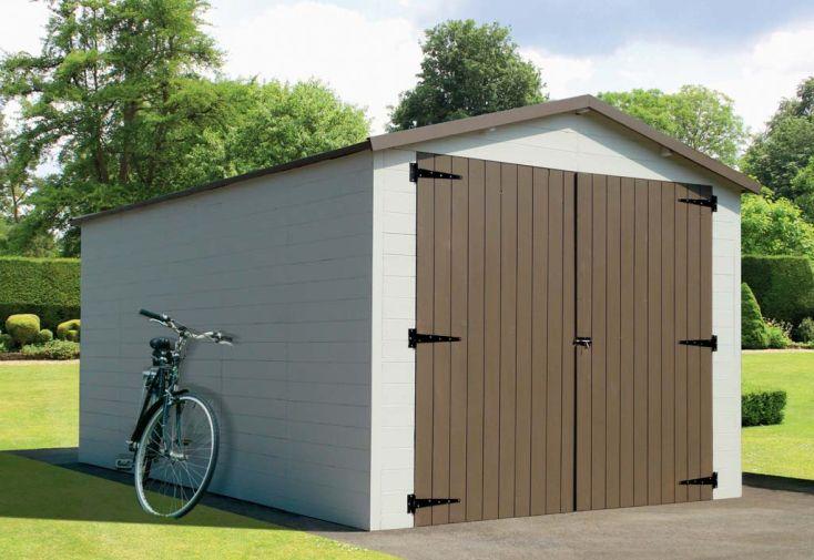 Garage Bois 16 mm (2,80x4,64m)