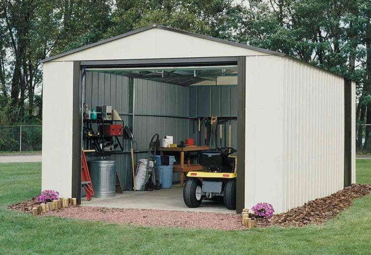 Garage Métal et Plastique GA1217