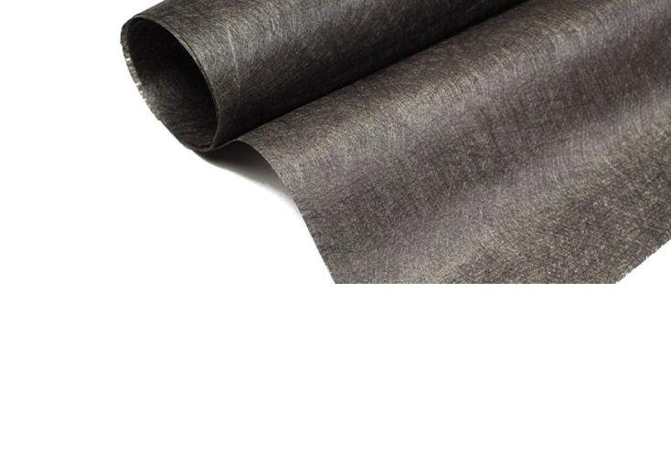 géotextile noir 120 gr/m2 pour gazon synthétique rouleau 25 m